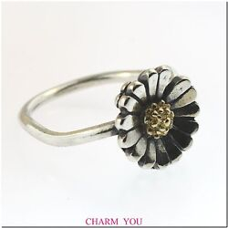 Authentic Trollbeads The Daisy Ring Sterling Silver