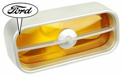 1971 1972 One Ford Mustang Grille Lights Original Ford Tooling Yellow Lens