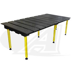 Buildproandtrade 6.5and039 1.98m X 4and039 Welding Table 36 Of Height With Standard Finish