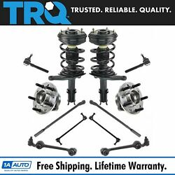 Trq 12 Pc Steering And Suspension Kit Struts Control Arms Tie Rods Ball Joints New