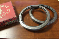 Nos Federal Mogul National Oil Seal X55200 Pack Of 2 Tractor 450