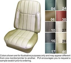 1968 Pontiac Firebird Deluxe Front And Rear Seat Covers - Pui