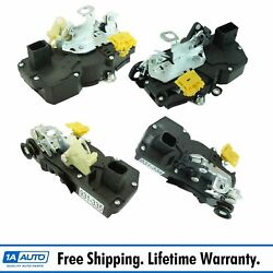 Dorman Front Rear Power Door Lock Actuator And Integrated Latch Set Of 4 For Gm