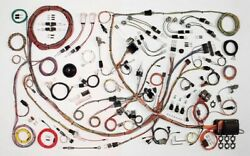 1971-73 Ford Mustang Classic Update Wiring Harness Complete Kit 510662