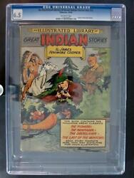 An Illustrated Library Of Great Indian Stories Nn 3 - Cgc 6.5 - Gilberton 1949