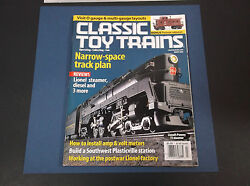 Vintage March 2003 Classic Toy Trains Magazine Model Railroading Vg-cond