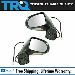 Trq Exterior Power Heated Memory Mirror W/ Signal Puddle Light Pair For Lexus
