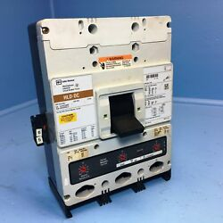 Cutler-hammer Hlddc3600f Hld-dc 600a Dc Circuit Breaker Uvr And Aux And 600 Amp Trip