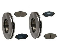 For Lexus Is300 L6 3.0l High Quality Front Bosch Quietcast Pads Brembo Rotors
