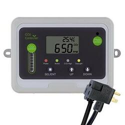CO2Meter RAD-0501 Day Night CO2 Monitor and Controller for Greenhouses Grey New