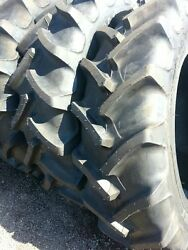 Two New 380/85r34 14.9r34 Radial Ford John Deere Tractor Tires
