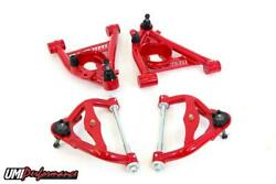Umi 78-88 Regal El Co G-body Upper And Lower Front Control Arm Kit Tall Ball Joint