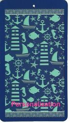 30 X 60 Inch Personalized Beach Pool Towel Down By The Bay Design New $24.95