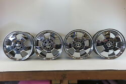 97 Mercedes R129 SL320 SL500 wheels set of 4 17 inch 1294011202 chrome