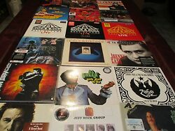 ROCK N ROLL HALL OF FAME VOLUMES 1 -3 VARIOUS ARTISTS 34 SIDES OF VINYL RARE SET