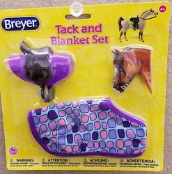 Breyer Tack & Blanket Set Ages 4+ Purple