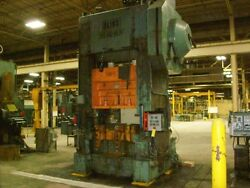 400 Ton Bliss High Speed Straight Side Press Stamping Planet Machinery #4710