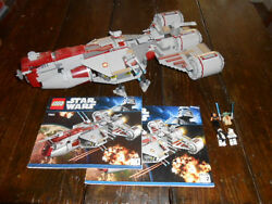 Vintage LEGO Star Wars Republic Frigate Set Complete with Instructions 7964