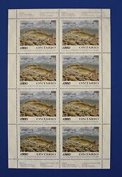 Canada On03 - 1995 Ontario Federation Of Anglers And Hunters Stamp Sheet Mnh