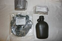 Us Military Issue Canteen Cup And Cover With Stove Complete Set Canteen Set