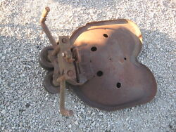 Vintage Rusty Rustic Tractor Seat Implement Good For Decor