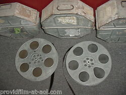 ANTIQUES: LOT OLD MOVIE 35mm film reels & ship containers Hundreds. MAKE OFFER!