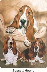 New Pet Dog Basset Hound Playing Cards Deck of Card by Ruth Maystead