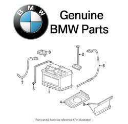 For Bmw E36 3-series M3 Z3 Battery Cable Negative Genuine 12-42-1-732-227
