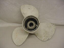 Aluminum Outboard Propeller 12.5 For Nissan/tohatsu Outboard Motors