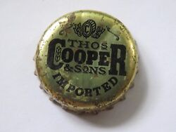Beer Bottle Cap Thomas Cooper And Sons Brewery And Homebrewing Supplier Australia