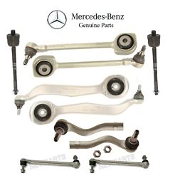 Front Control Ars Tie Rod End Sway Bar Suspen Kit Genuine For Mercedes W204 W207