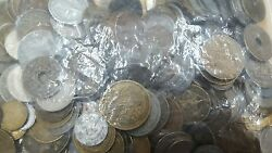 Set Of 6.6lbs Of Currencies French In Bulk To Sort