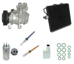 Reman Complete A/c Compressor Kit Gg379 With Condenser Drier And Orifice Tubes