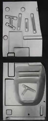 Ford,mercury Retractable And Convertible Front And Rear Floor Pan Set L/r 1957-1959