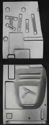 Ford,mercury Retractable Front And Rear Floor Pan Set L/r 1957-1959