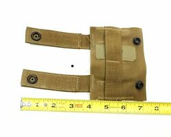 Lot Of 2 New Molle Ii Military Style K-ba Tool Carrier Adapter Coyote Brown