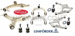 For Mercedes W251 R350 R500 Set of Front & Rear Control Arms & Ball Joints KIT