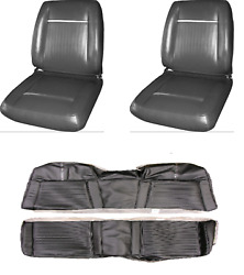 Plymouth Sport Fury Bucket Seat And Rear Seat Cover Hardtop 65 1965