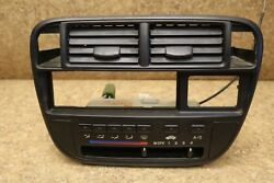 96 97 98 HONDA CIVIC TEMPERATURE CLIMATE CONTROL WITH BEZEL