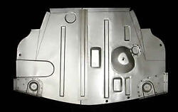 Studebaker Ck Coupe And Hawk Full Trunk Panel With Corner Supports 1953-1964