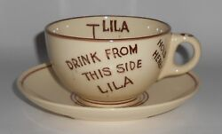 Franciscan Pottery El Patio Jumbo Customized Cup And Saucer Set