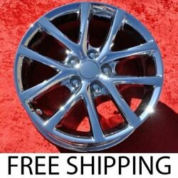 Set Of 4 Chrome 17 Wheels For Lexus Is250 Is350 Awd 74237