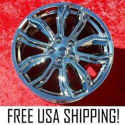 Set Of 4 Chrome 19 Ford Mustang Gt Appearance Package Oem Wheels Rims 3909