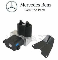 For Mercedes C215 R230 W220 Abc Hydraulic Susp Air Compressor Valve And Cover