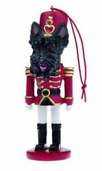 Scottish Terrier Scotty Scottie Dog Soldier Holiday NUTCRACKER ORNAMENT