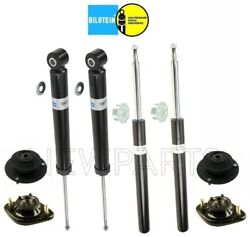 For Bmw E30 3-series New Rear Shocks And Front Struts Mount Kit Bilstein Tc B4