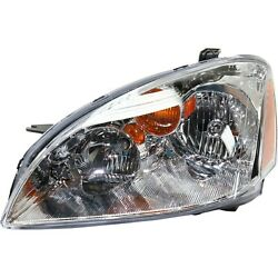 Headlight Headlamp Driver Side Left Lh New For 02-04 Nissan Altima