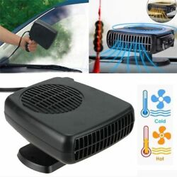 2 IN 1 12V 150W Portable Car Auto Heating Cooling Fan Heater Defroster Demister