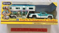 Breyer Horses Stablemates 1:32 Size Pickup Truck and Gooseneck Trailer #5356 NEW