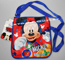 MICKEY MOUSE SMALL CROSS BODY BAG GIRLS WOMENS SHOULDER SIDE PURSE DISNEY GIFT